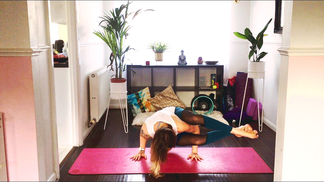 EDINBURGH WORKSHOP ALERT – Create A Home Yoga Practice