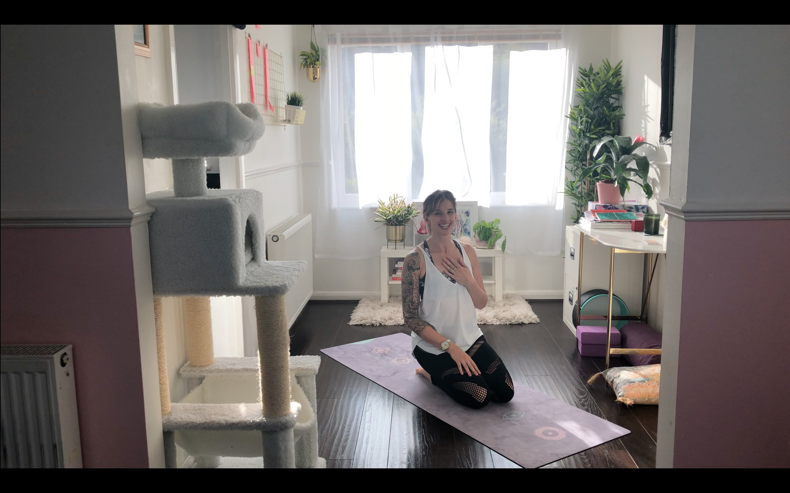 VIDEO: Online Yoga Class to Help You Unwind